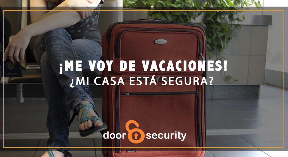 Consejos de seguridad vacaciones