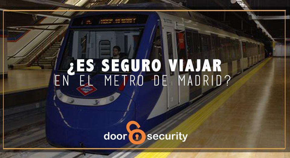 El metro de Madrid es seguro